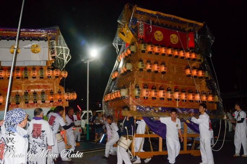 北條新田だんじり(屋台) 東予宵祭り
