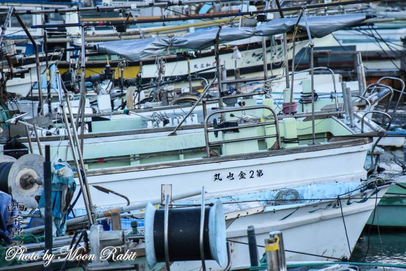 漁船のある風景 西条漁港 愛媛県西条市北浜北