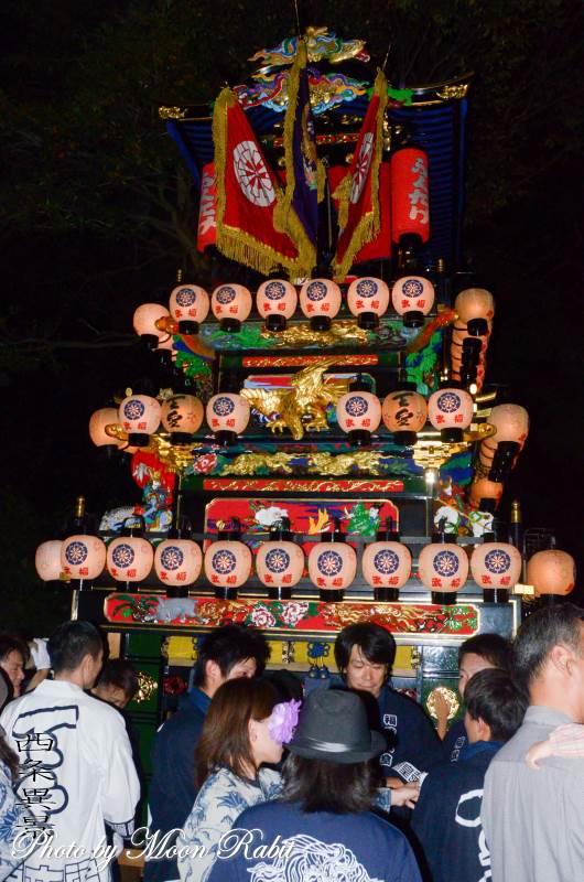 福武祭(加茂神社祭) 新田だんじり(屋台)