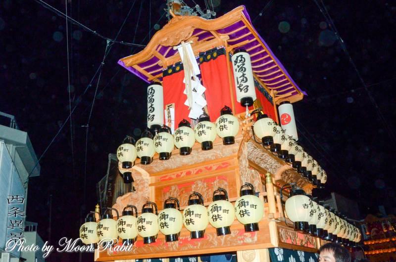 古町だんじり(屋台) 祭り提灯・提灯立て