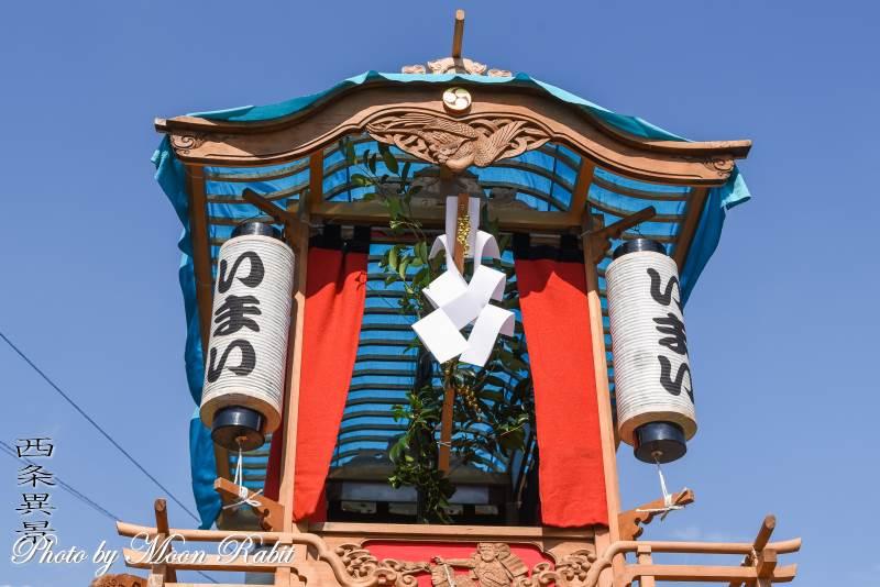 今井だんじり(屋台) 旗