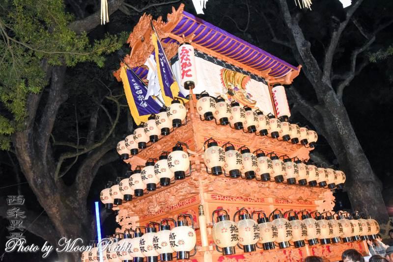 祭り提灯 船形屋台(だんじり)