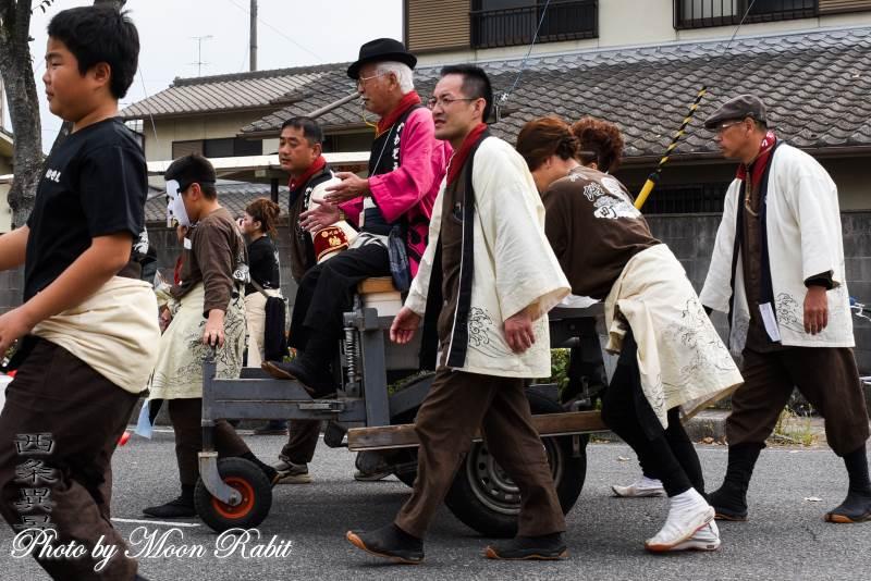 川沿町だんじり(屋台) リヤカー・台車
