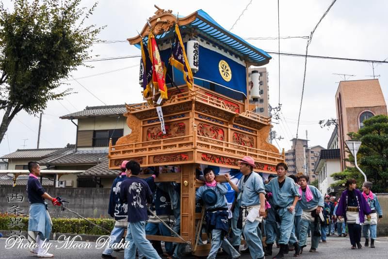 統一運行 喜多川中だんじり(屋台)