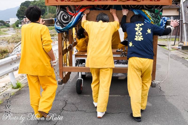 川原谷だんじり(屋台) 祭り装束