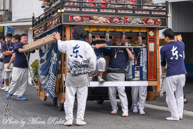 東常盤だんじり(屋台) 祭り装束