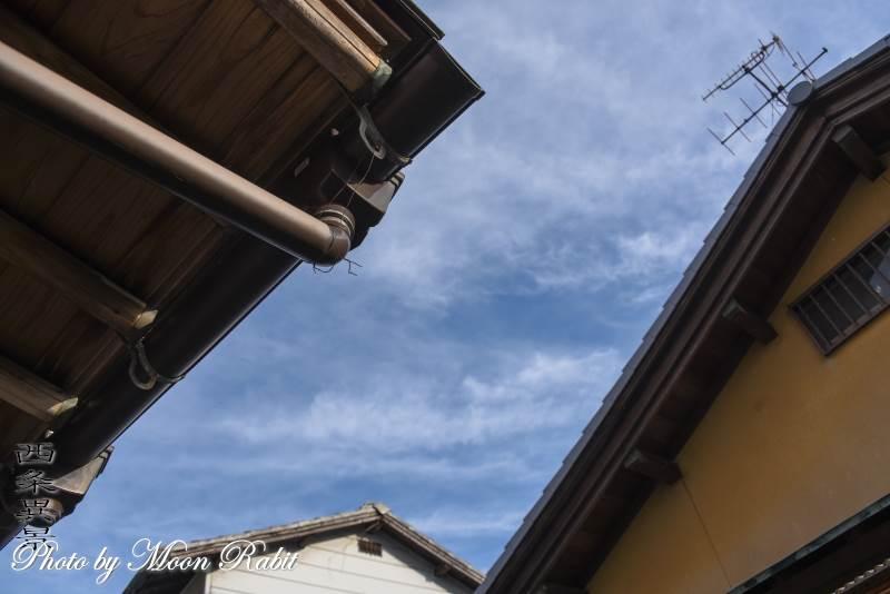 民家の屋根 愛媛県西条市神拝