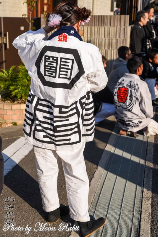 喜多町屋台(だんじり) 祭り装束