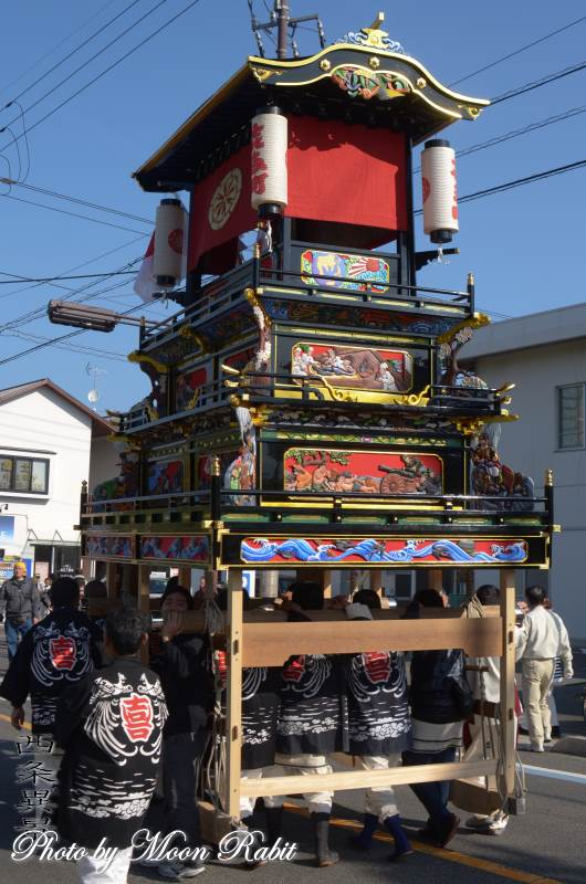 先代喜多町だんじり 屋台
