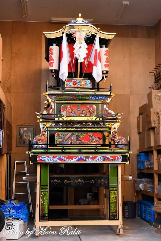 先代北町だんじり 喜多町屋台蔵 伊曽乃神社祭礼 西条祭り 愛媛県西条市