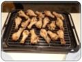 アヤムゴレンオーブンで焼く