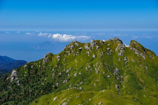 11月7日 宮之浦岳からの眺望