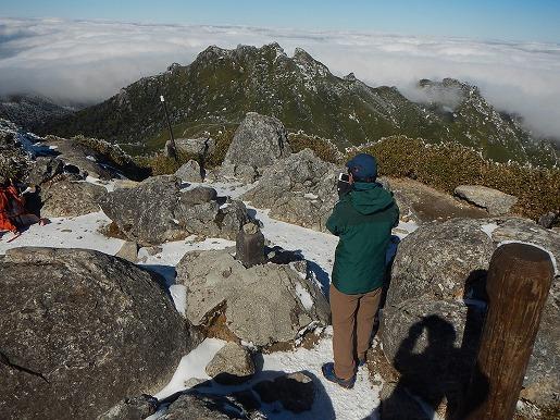 1月24日 宮之浦岳山頂