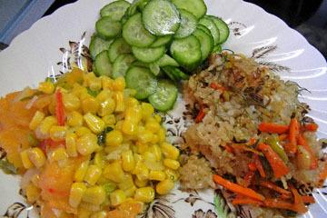 blog CP9 Brunch, Carrot & Sweet Rice, Turkish Cucumber, Corn & Tomato Saute_DSCN0682-10.28.18.jpg
