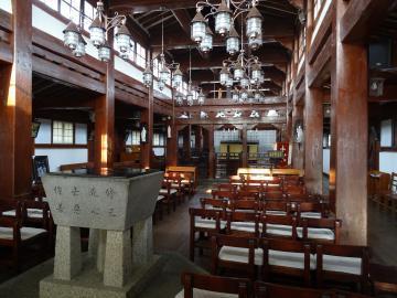 2018年1月15日 大韓聖公会江華聖堂内部