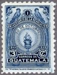 グアテマラ・10月革命1周年