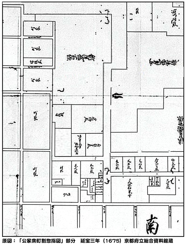 6:公家衆町割惣指図