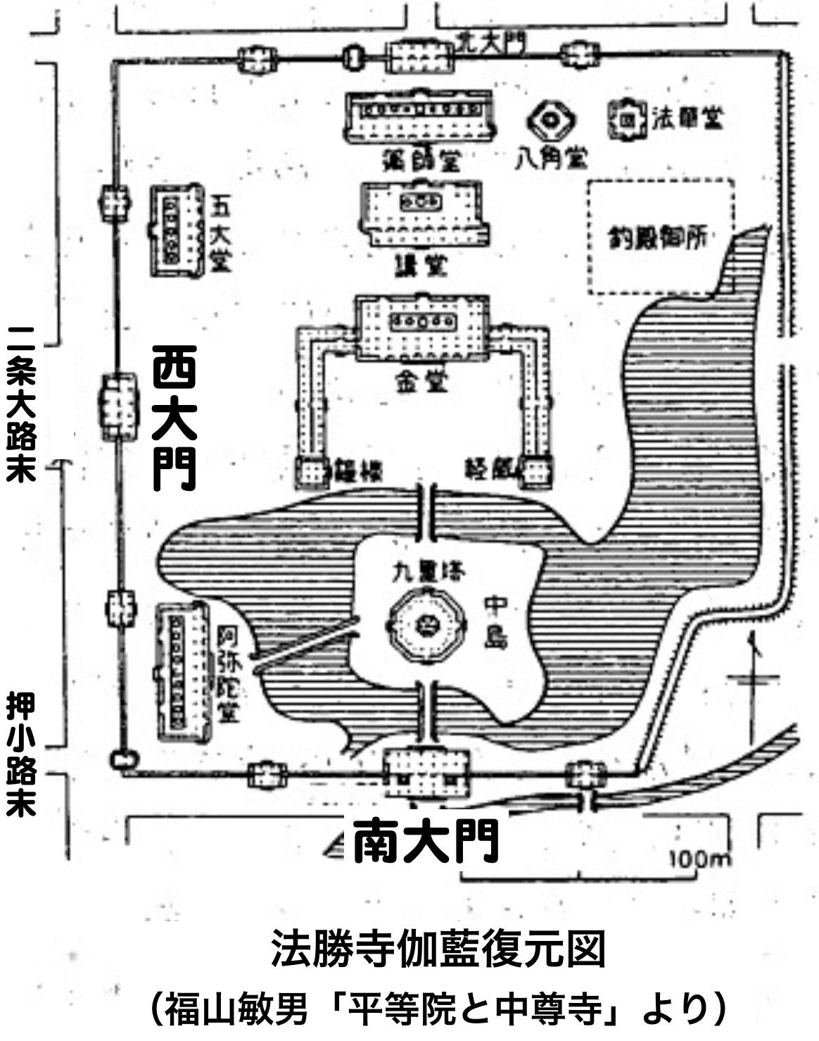 9:法勝寺伽藍復元図