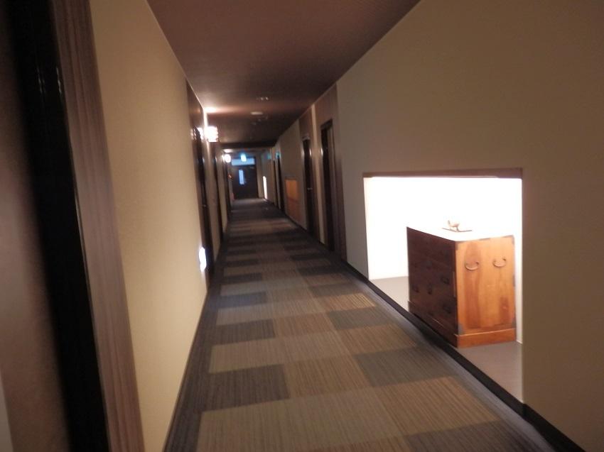 久遠 客室階廊下
