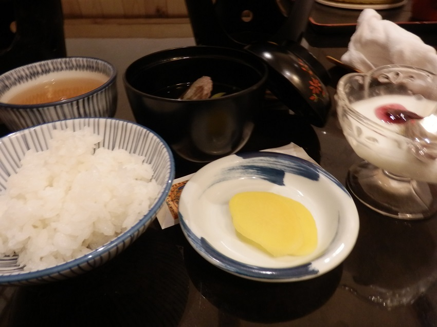 椿館 食事