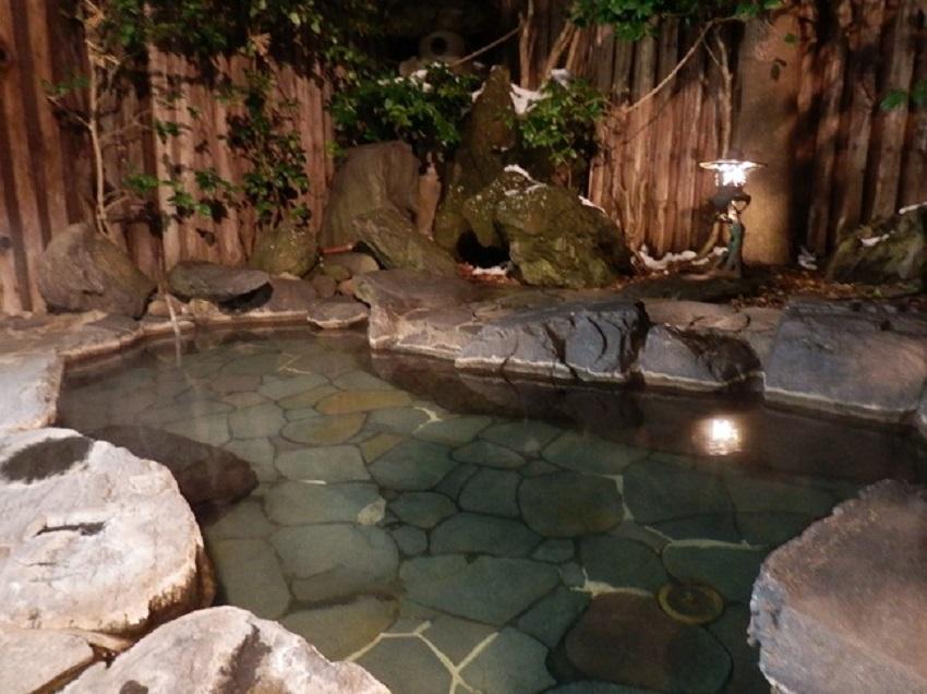 椿館 大浴場