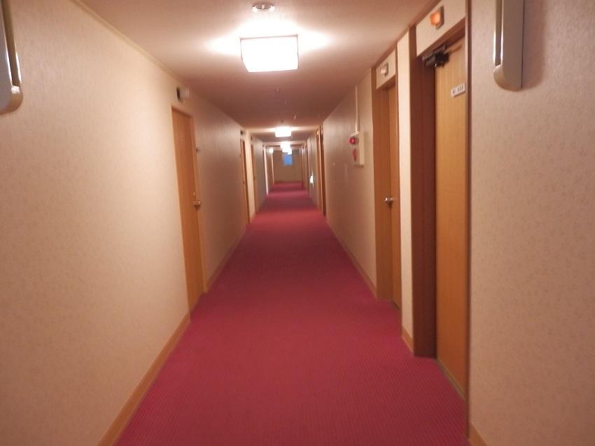 ホテル浦島 本館廊下