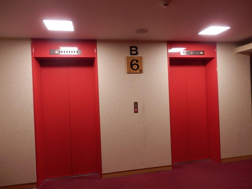 ホテル浦島 本館エレベーター