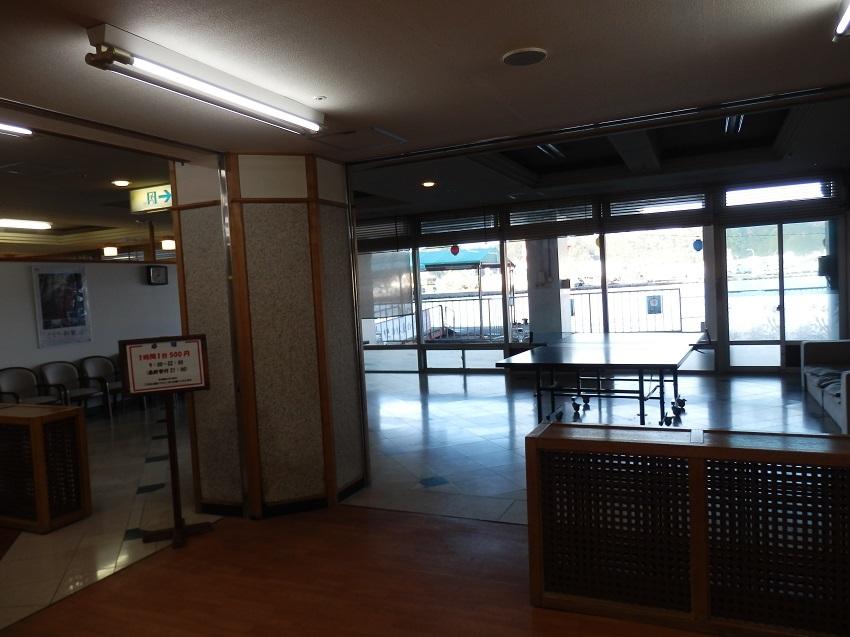 ホテル浦島 卓球コーナー