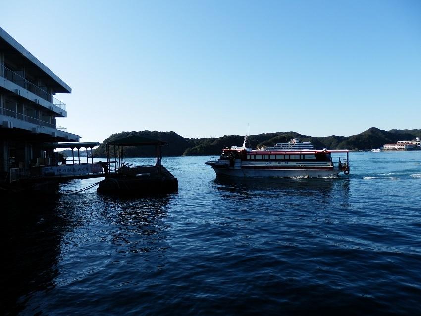 ホテル浦島 桟橋