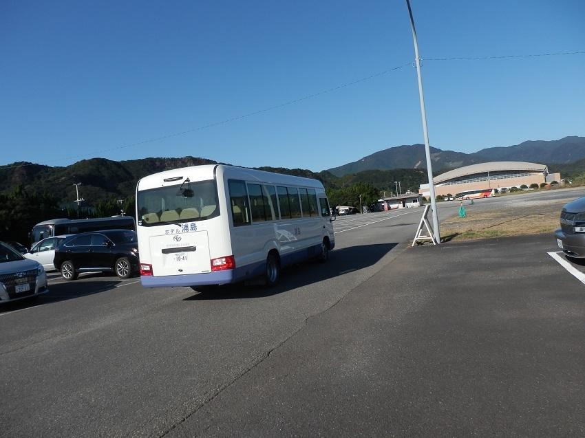 ホテル浦島 専用駐車場
