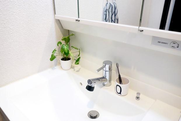 デザインレターズ・メラミンカップ・洗面所・洗面台①
