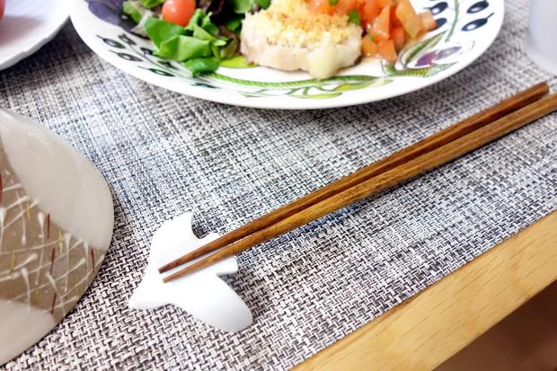 波佐見焼 箸置き flap フラップ 鳥・料理①