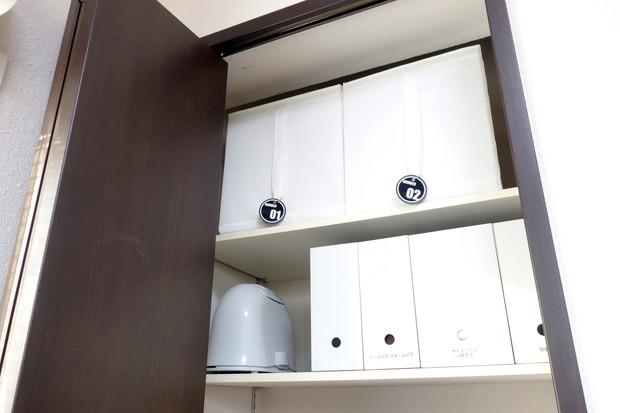 子供部屋・身支度スペース・最上段・IKEA・SKUBB①