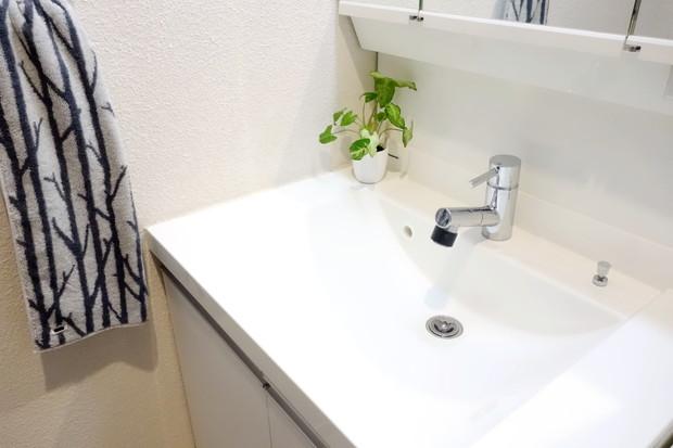NCC 抗菌洗面台排水口ゴミ受け・洗面所・洗面台①