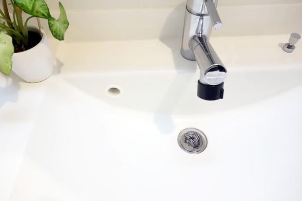 NCC 抗菌洗面台排水口ゴミ受け・洗面所・洗面台③
