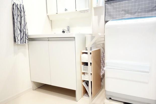 洗面所・スリムカラーボックス①