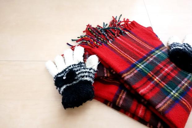 マフラー・手袋①