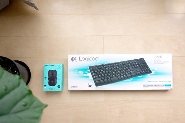 Logicool・ワイヤレスマウス&キーボード①