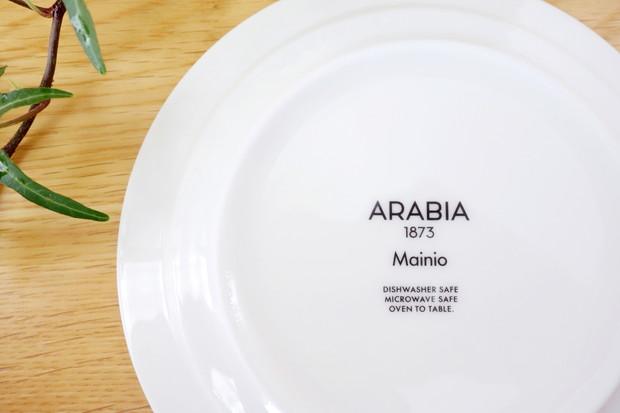 ARABIA・マイニオ・15㎝プレート④