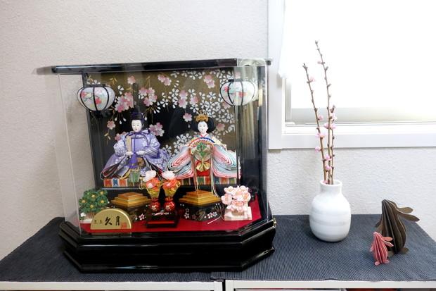 2019年・ひな人形・桃の花・ケーラー・オマジオ①