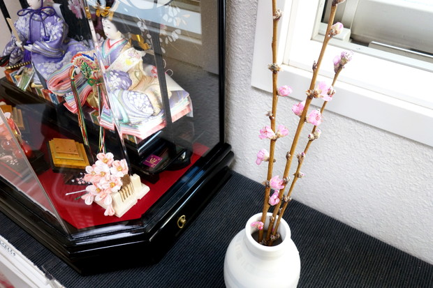 2019年・ひな人形・桃の花・ケーラー・オマジオ②