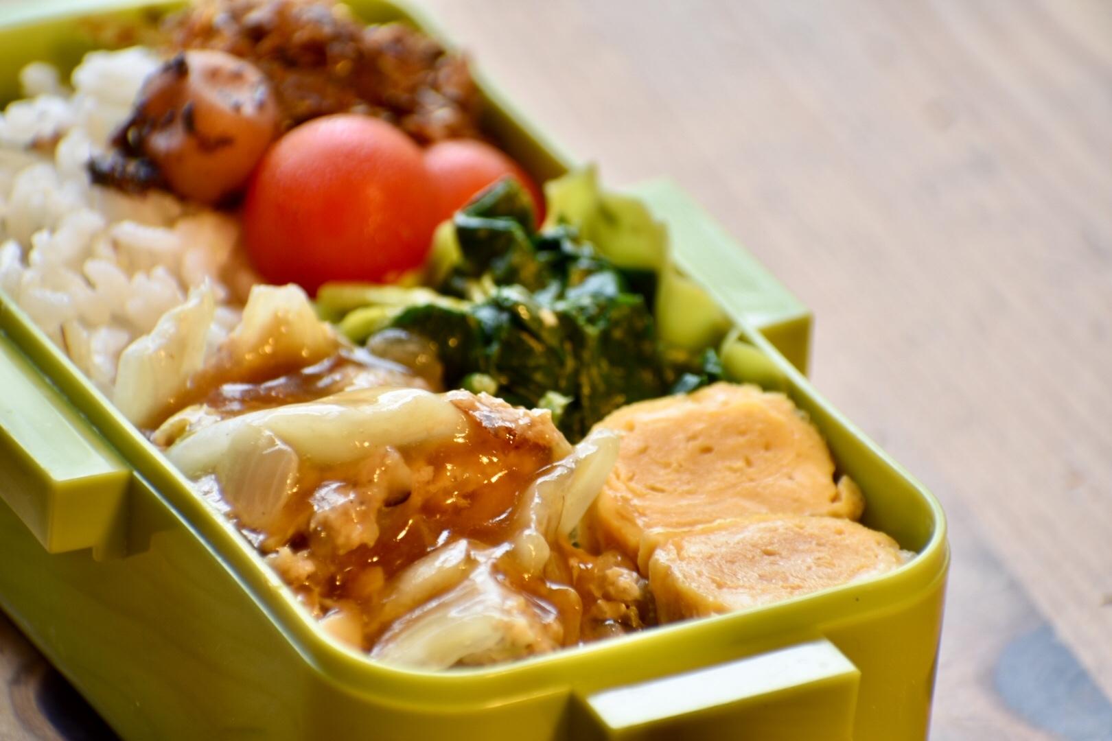 白菜のミルフィーユ鍋をお弁当に