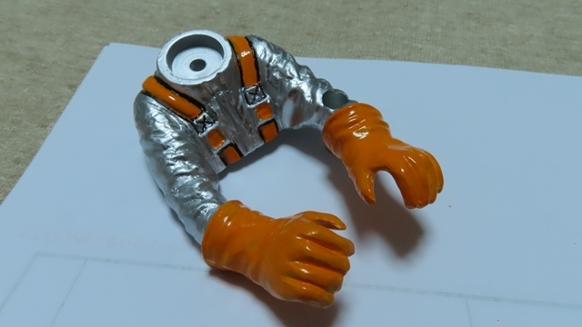 コミカル人形塗装43