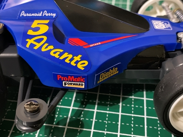 アバンテJr30制作4