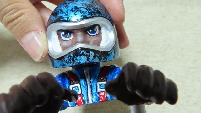 コミカル人形塗装40