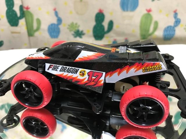 ファイヤードラゴンボディ塗装-39