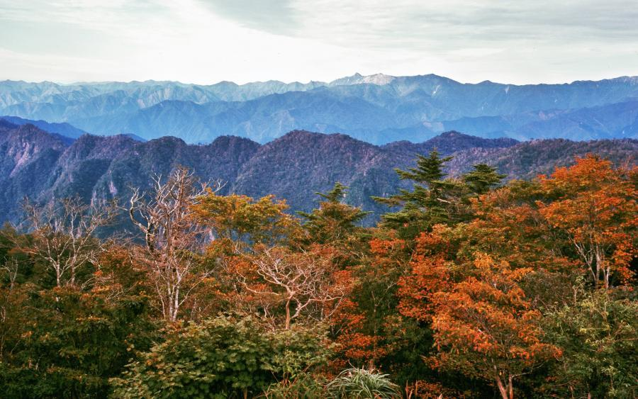 大峰山遠望1