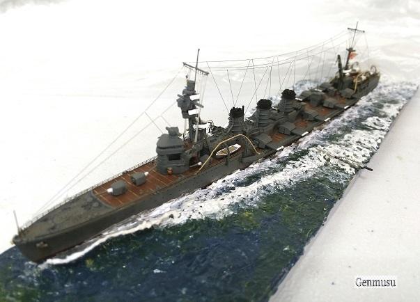 重雷装巡洋艦北上ジオラマ