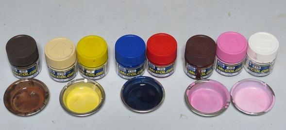多彩な色合い