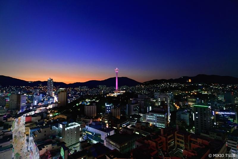 絶景探しの旅 - 0768 暮れ行く釜山の街 (釜山広域市 中区)